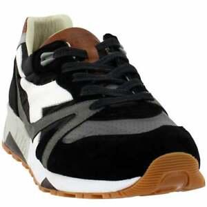 Diadora N9000 H Ita Mens  Sneakers Shoes Casual   - Black