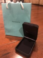 Authentic Tiffany & Co Suede Necklace Case Box Bag BRAND NEW