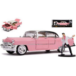 CADILLAC FLEETWOOD 1955 WITH ELVIS PRESLEY 1:24 Jada Toys Movie Die Cast