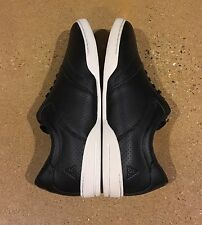 Huf Dylan Rieder Size 12 US Black Perforated leather Rare Skate Shoes Sneakers