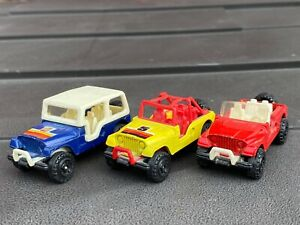 Corgi Juniors Jeep Joblot / Collection - Lovely Different Styles 1983