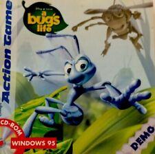DISNEY'S ACTION GAME DEMO - DISNEY/PIXAR'S A BUG'S LIFE -       1999 CD-Rom
