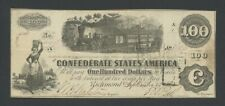 More details for united states  confederate  $100 1862  fr.cs-40  banknotes