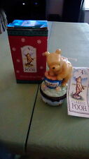 Classic Winnie The Pooh porcelain hinged box by Midwest