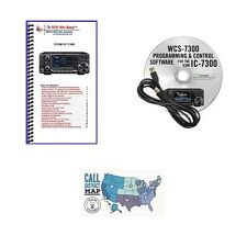 Icom IC-7300 100W HF Touch Screen Transceiver Accessories Bundle!!