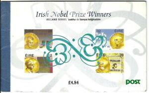 Ireland 1994 £4.84 Irish Nobel Prize Winners Prestige Booklet - MINT condition