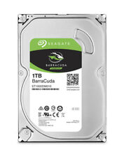 Seagate 1tb Barracuda SATA 6gb/s 64mb Cache 3.5-inch Internal Hard Drive Disk