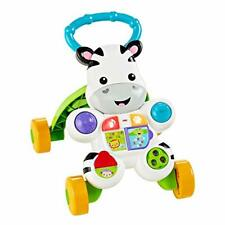 Fisher- DLF00 Learn With Me Zebra Walker Baby or Toddler Educational Toy