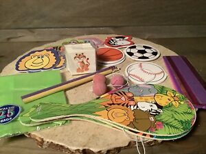 Kids Birthday Party Favors ANIMALS SPORT PADS / PADDLES / PENCILS / RULERS / MOR
