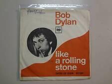 "BOB DYLAN: Like A Rolling Stone-Gates Of Eden-U.K. 7"" 65 CBS 201811,Denmark PSL"