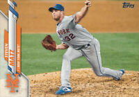 Steven Matz 2020 Topps Series 1 #128 New York Mets baseball card