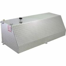 RDS 71783 60 Gallons Wedge Shaped Auxiliary Fuel Tank Treadplate Finish