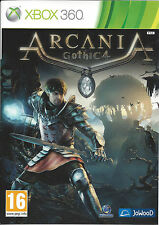 ARCANIA GOTHIC 4 for Xbox 360 - with box &manual - PAL