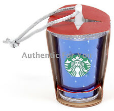 New Disney Parks Disneyland 60th Diamond Celebration Starbucks Cold Cup Ornament