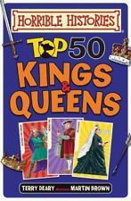 TOP 50 Kings et reines (Horrible Histories) par Deary , Terry Livre relié