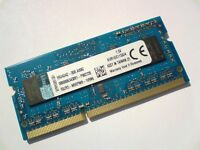 4GB DDR3-1600 PC3-12800 1600Mhz KINGSTON KVR16S11S8/4 LAPTOP RAM MEMORY