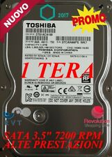 "HARD DISK 1 TERA 1000 GB  7200 RPM SATA 3.5""  TOP QUALITY PER DVR GARANTITO"