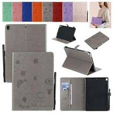 "For iPad 234 Mini Air 9.7"" 2018/17 5/6th 10.5 Card Slot Smart Leather Case Cover"