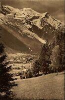 Chamonix Frankreich France Rhône-Alpes AK ~1920/30 Mont Blanc Gipfel Mountains