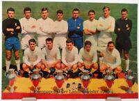 Real Madrid Europapokal der Landesmeister Winner 1966 Fan Big Card Edition A125