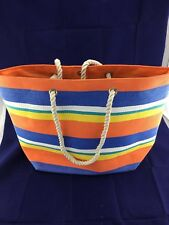 Beach Bag Large Rope Handles