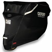Oxford Motorcycle bike Protex Stretch Outdoor Waterproof Cover Size XL CV163