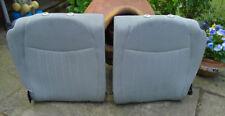 FIAT 500 LOUNGE BLACK & WHITE CHECKED REAR SEAT BACKS - SPLIT FOLD £30