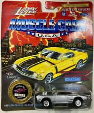Johnny Lightning Muscle Cars L.E. Silver 1970 Dodge Super Bee Series 10 1994 NOC