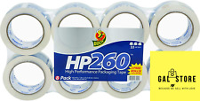 Duck Hp260 Packing Tape Refill 8 Rolls 188 Inch X 60 Yard Clear 1067839 Us