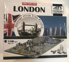The City of London : History Over Time 4D Puzzle 1100 pieces NEW