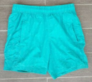 Adidas Mens Blue Green Girl Dancer Rare Swim Shorts Free Delivery