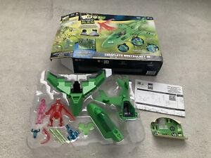 Ben 10 Ultimate Alien 2011 Rustbucket III Jet Plane & Figures Boxed