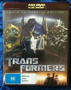 HD DVD Transformers 2 Disc Special Edition Free Postage