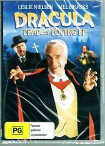 Dracula Dead and Loving It DVD Leslie Nielsen Brand New and Sealed Australia