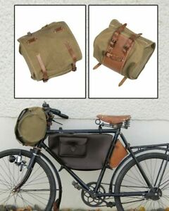 Lenkertasche Fahrradtasche Schweizer Militärrad Velo Armeefahrrad CH Segeltuch