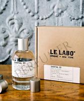 Le Labo Santal 33 *Eau de Parfum Unisex 3.4 oz / 100 ml  Authentic  New Sealed *