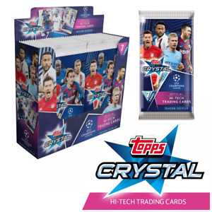 HAALAND ROOKIE 2019/20 Topps Champions League CRYSTAL 24 Pack HOBBY BOX! 📈📈📈