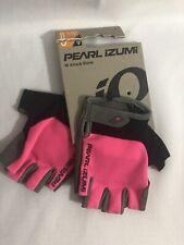 Pearl Izumi Attack Bike Gloves  Size Large Screaming Pink Color Half Fingers
