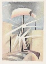 Robert Chariot: Kubistische Komposition in Pastelltönen