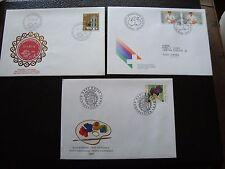 SUISSE - 3 enveloppes 1985/1986/1987 (B11) switzerland