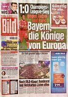 BILD Zeitung 24.08.2020 - FC BAYERN TRIPLE - 1:0 Coman PSG Champions League