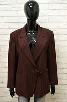 Giacca Donna KENZO PARIS Taglia Size XL Maglia Blazer Jacket Woman Lana a Righe
