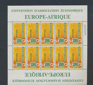 XC52336 Central Africa europafrique XXL sheet MNH