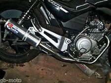 gbmoto race exhaust yamaha ybr125 ybr 125