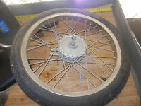 AMF ALL PRO MOPED front rim/axle/brake/tire I have more parts for this moped