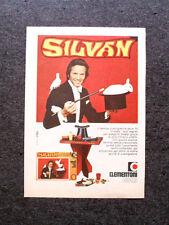 K696-Advertising Pubblicità-1974- SILVAN SCATOLA GIOCHI , CLEMENTONI GIOCHI