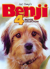 Benji: 4 Movie Collection (DVD, 2013, 2-Disc Set) NEW