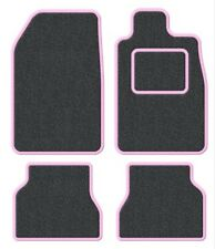 Suzuki Samurai/Santana/SJ 410 Velour Anthracite/Pink Trim Car mat set