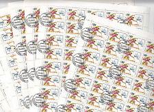 CCCP URSS 24 feuilles Jeux Olympiques 1992 Barcelone Canoe et caravelle 1991