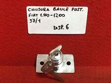 FIAT 1100 FIAT 1200 CHIUSURA BAULE COFANO POSTERIORE  - NUOVO -